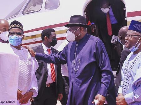 Governor Bala Muhammad Welcomes Former President, Goodluck Jonathan To Bauchi [PHOTOS]