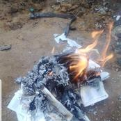Don't Go Through This Guy's Posts If You Are Not Strong, He Just Burned The Bible, End Times Indeed