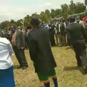 Moi University Lecturers On Strike