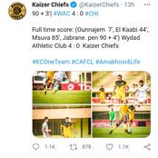 It ended in tears for Kaizer Chiefs.