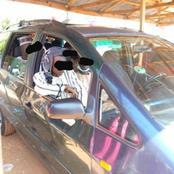 Le kidnappeur, sans le savoir monte à bord de la voiture de l'une de ses victimes...