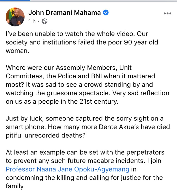 e0557a93c90f6d15ac7c2af98a88debe?quality=uhq&resize=720 - John Mahama Finally React To The Lynching Of 90 Years Old Woman