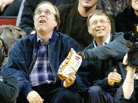 Billionaires Are Humans - See How And What Bill Gates Was Spotted Eating