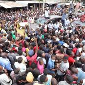 ODM Party Leader Raila Receives Warm Reception at Kongowea, Tudor And Changamwe