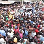ODM Party Leader Raila Receives Warm Reception at Kongowea, Tudor And Changamwe