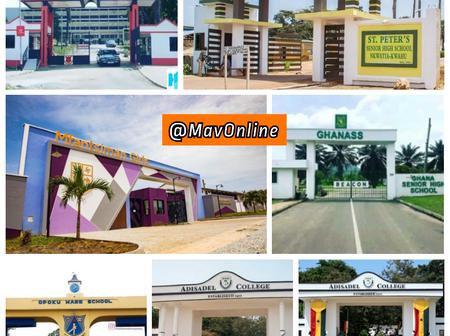 Which of the following Senior High Schools has the best entrance? Ghanaians react