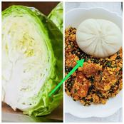 Instead Of Eating Unhealthy Fufu Every time, See Easy Way You Can Make Swallow From Cabbage