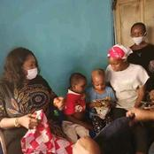 5 Days after, See the rescued Kids from the Onitsha Prophetess who allegedly Pounds Kids alive.