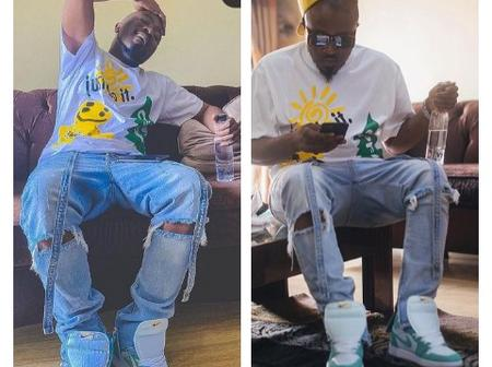 Fans React As Ice Prince Zamani Shares Cute Pictures Of Himself On Instagram