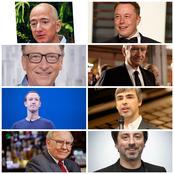 Voici la liste des 8 personnes qui possèdent plus de 100 milliards de dollars dans le monde.