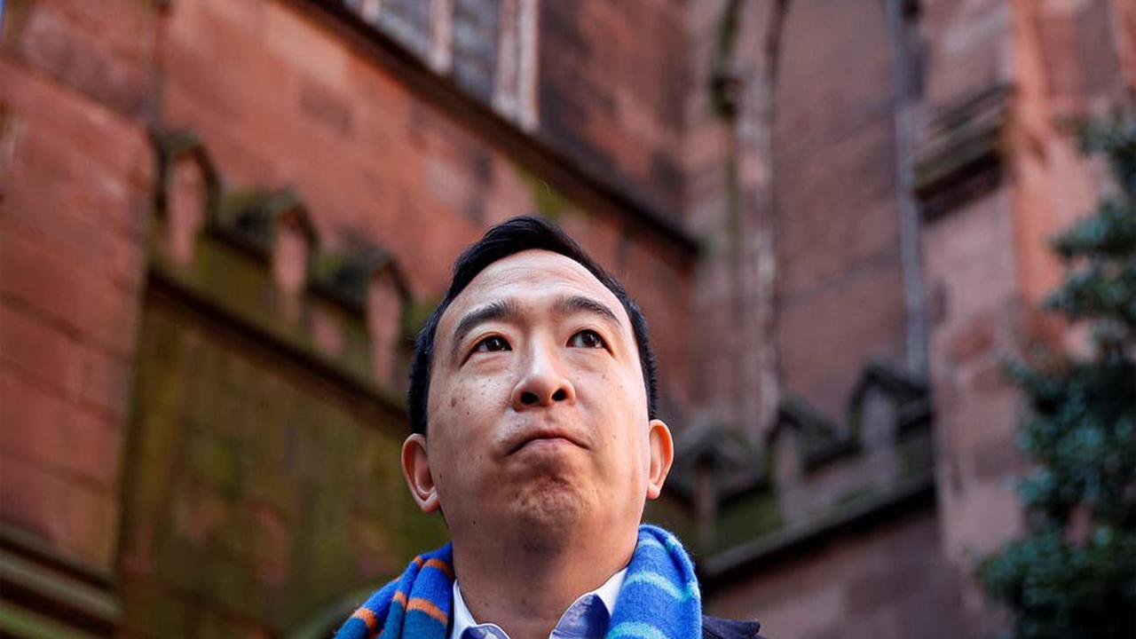 Andrew Yang condemned online for cursing in church during New York mayoral campaign stop
