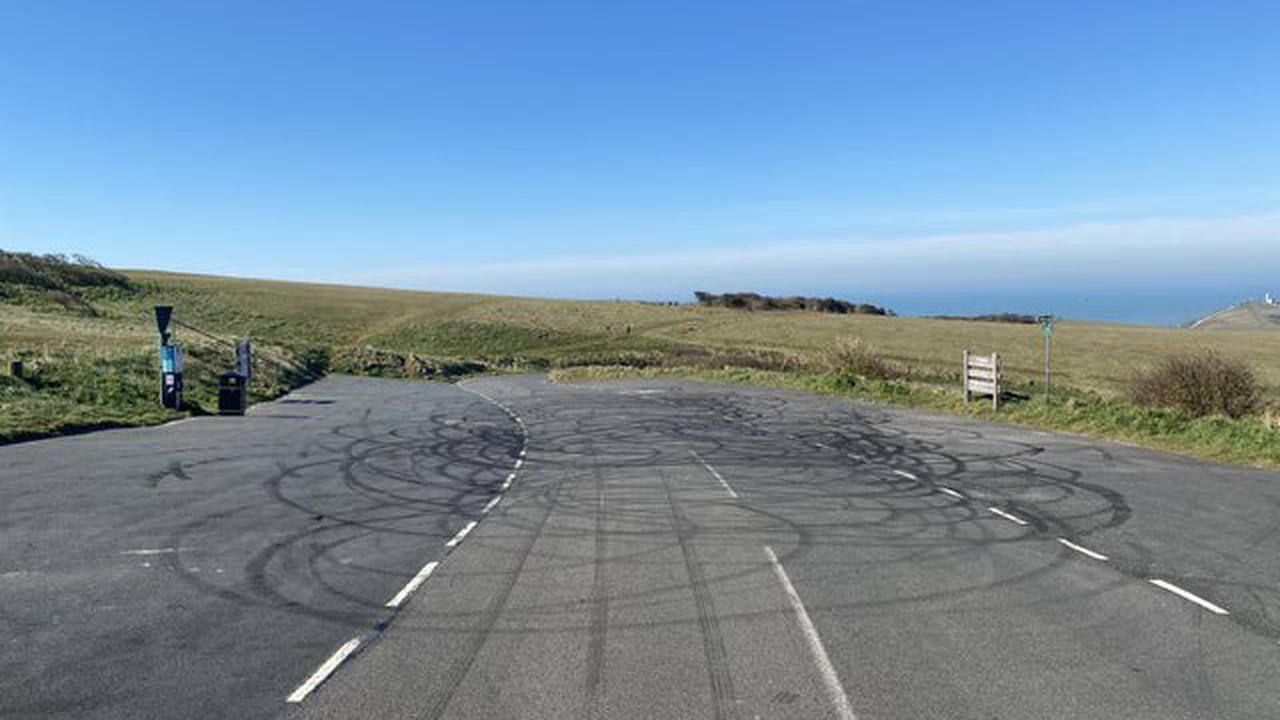 Boy racer danger at Beachy Head