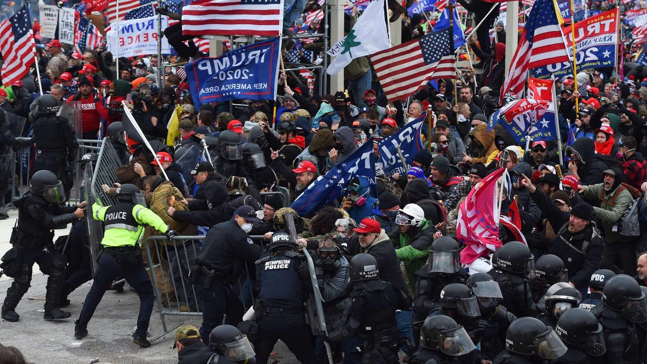 'Jan. 6 changed everything': Will Capitol riot mark a return to fortress policing?