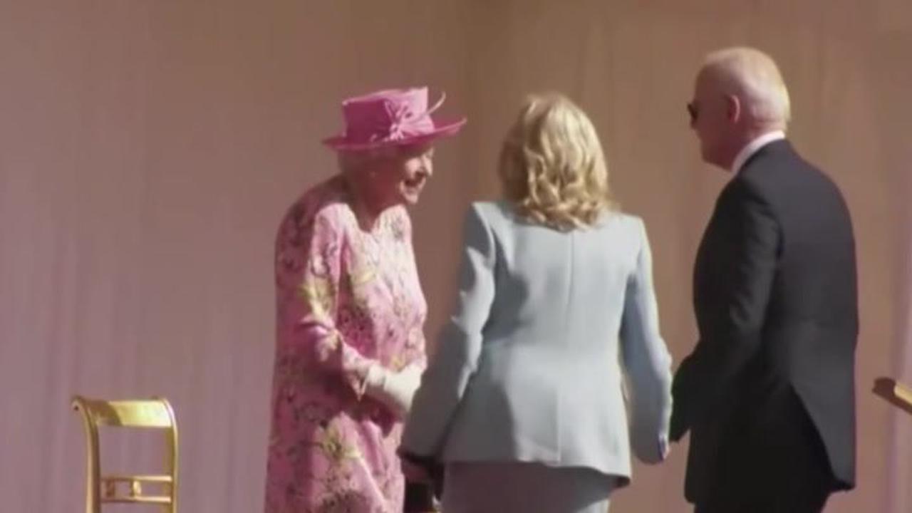 Joe Biden breaks royal protocol TWICE during his meeting with Queen