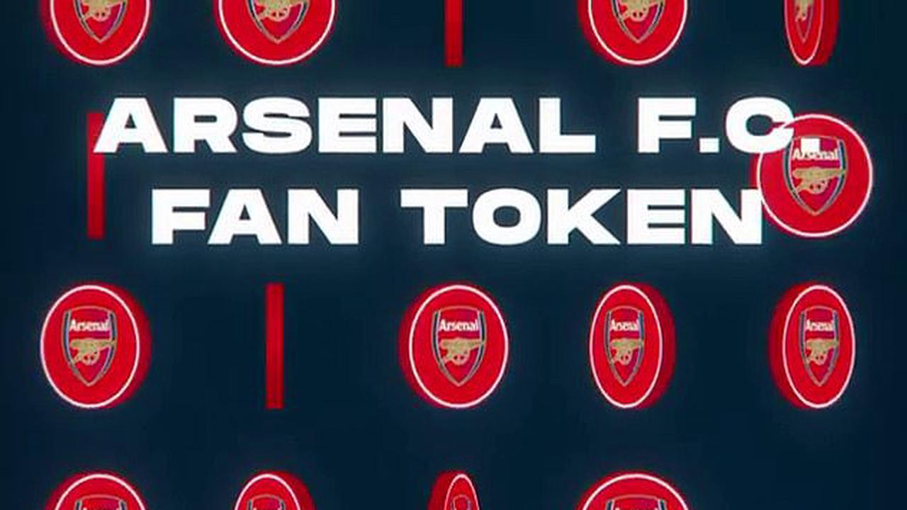 Arsenal join football's cryptocurrency revolution as they sign partnership  to launch $AFC Fan Token... which promises to allow fans influence on club  decisions through digital polls - Opera News