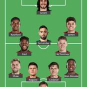 Manchester United Strongest Lineup That Will Defeat Manchester City Today