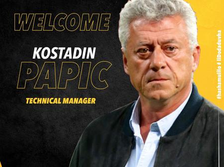 Kosta Papic Returns to Black Leopards as a Technical Director