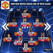 How Barca, Man Utd, Juventus, Man City, PSG, Inter Milan & Liverpool Could Lineup With David Alaba