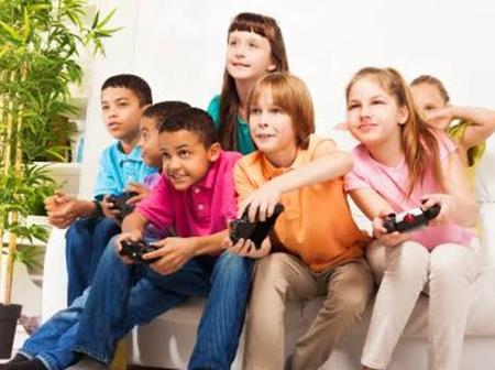 Video games children can play.