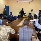 MP For Jomoro Met The Security Authorities In Elubo Regarding The Opening Of The Land Borders Today
