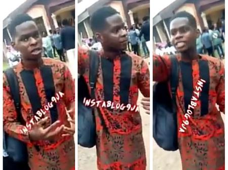 UNIBEN Student Laments Getting Poorer Grade Than Those He Copied During The Exam