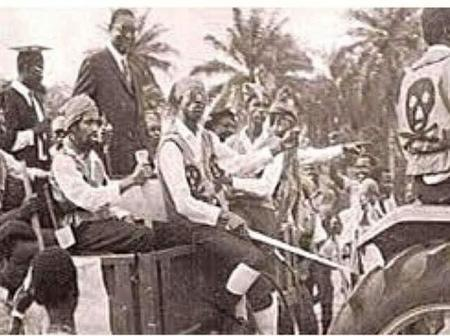 Pirate Confraternity Welcome Nnamdi Azikiwe To University Of Lagos In 1972- photo