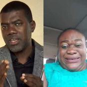 After Don Davis' Mum Said Reno Warned Her To Apologize To Deeper Life On TV, See Reno Omokri's Reply