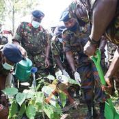 Photos:Kenya Defence Forces Celebrates Wangari Maathai Day in Style