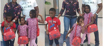Beautiful Pictures Of Mercy Johnson, Her Husband And Four Children