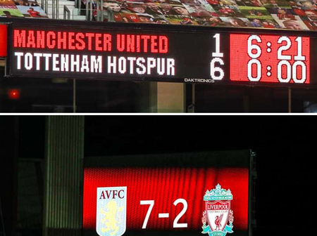 Check out Other Teams That Have Also Beaten Man Utd & Liverpool Heavily Too.