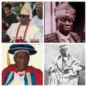 Photos Of Obas Of Lagos State From 1901 Till Date