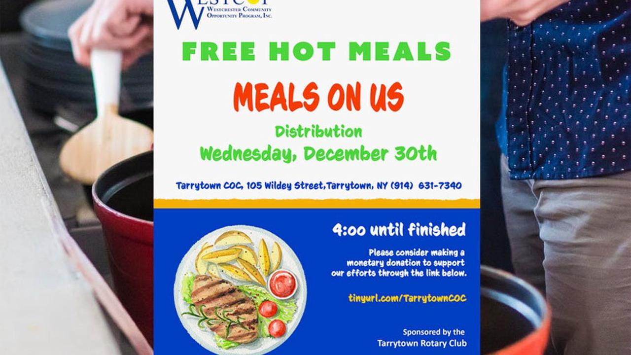 Free Hot Food Wednesday, December 30