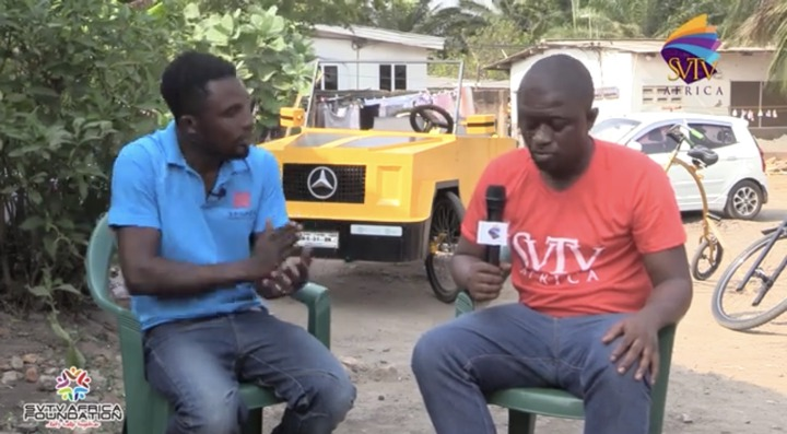 e13c94ab88e7401a934ec6fd4f5ccd72?quality=uhq&resize=720 - 'Ghana Got Talent': JHS Leaver Builds Benz Car With A Paddle Which Has Caused Massive Stir