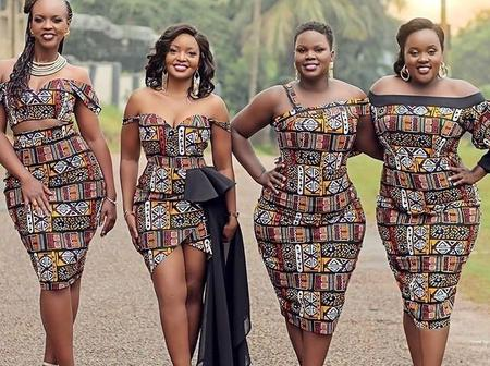 32 Trendy, Chic and Exquisite Ankara Dress Styles for the Month of April.