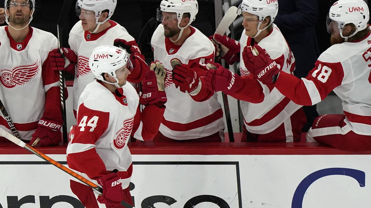 Surging Red Wings beat Blackhawks for second straight win