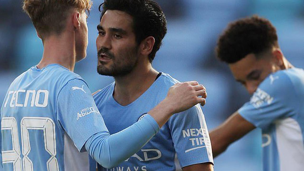 Manchester City 4-1 Blackpool: Ilkay Gundogan at the double while Riyad Mahrez and 18-year-old Samuel Edozie also strike as Pep Guardiola's side enjoy ideal preparation in final pre-season friendly before Community Shield against Leicester this weekend