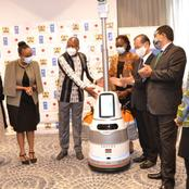 Kenya Launches Robots To Cushion Health Workers From COVID-19 Risks