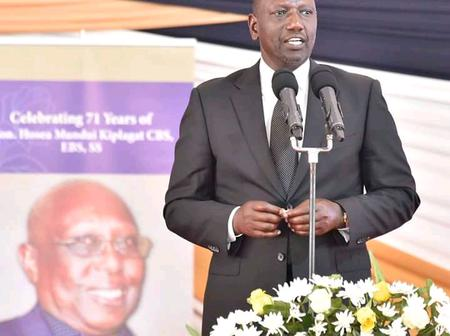 Rift Valleys Political Competitors Gideon Moi & DP Ruto Meets Face To Face! Ruto Says This