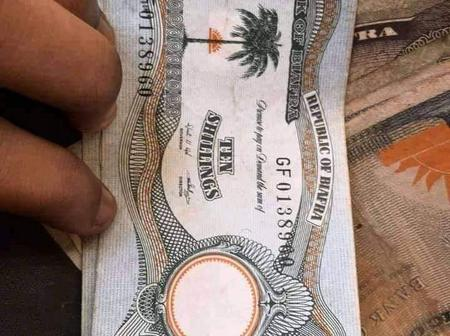 Man Finds Biafra Currency In His Father's Wardrobe