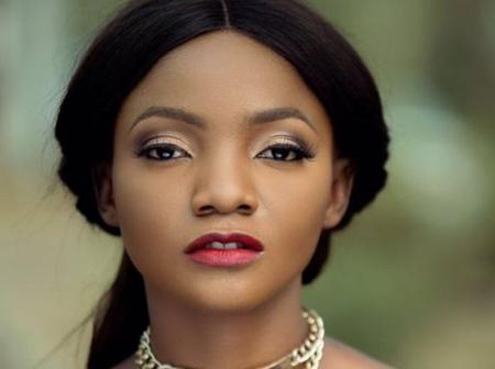 When you're done posing, come and breastfed your baby- Simi tells her husband, Adekunle Gold