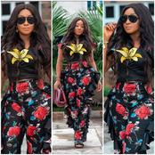 Ini Edo Stuns On Instagram As She Shares Lovely Pictures On Friday With Caption 'TGIF'