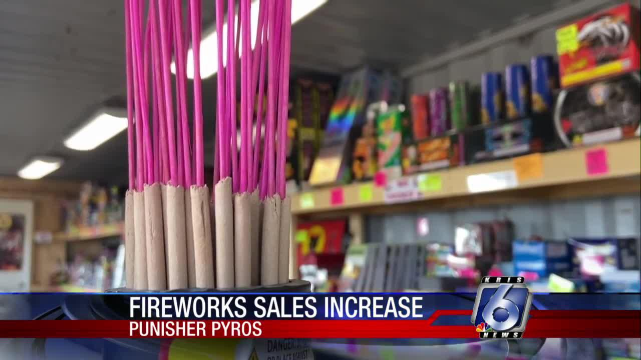 Fireworks sales booming with New Year's holiday approaching
