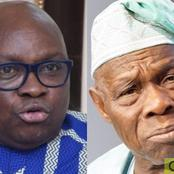 Fayose: I Will Send Obasanjo To Jail If I Become The President Of Nigeria (Details)