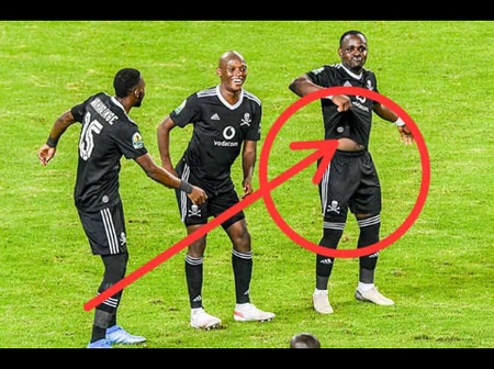 Social media spotted something to Orlando Pirates player and start talking Check OPINION