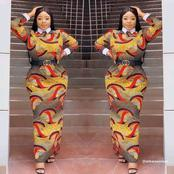 48 Classic And Stylish Ankara Long Gown For Beautiful Women