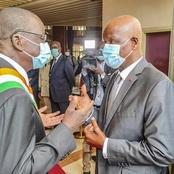 Cette image de Jeannot Ahoussou et Amadou Soumahoro ne laisse personne indifférent