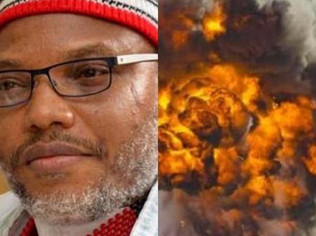 Kanu Nnamdi Reacts To The Explosion That Rocked Maiduguri. Look At What He Said About It (Reactions)