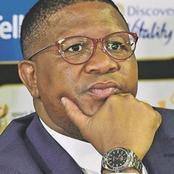 Minister Mbalula is in hot water for his insensitive response to concerned motorist