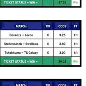 Wing Big With Today's 12 Betting Prediction Tips Of Over 109odds.