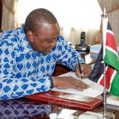 President Uhuru Kenyatta Pardons Rogue KCPE Candidates
